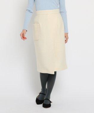 【WEB限定プライス】【Lサイズあり】ループヤーンタイトスカート
