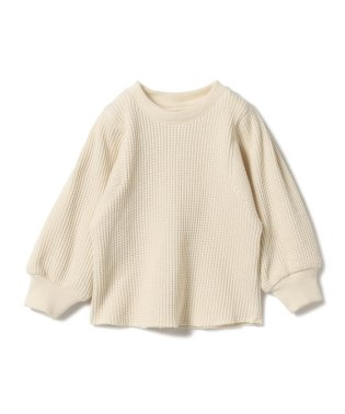 mimi poupons / サーマル ベルスリーブ Tシャツ (2~6y)