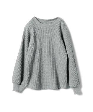 mimi poupons / サーマル ベルスリーブ Tシャツ (8~10y)