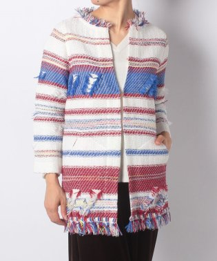 【SHIPS for women】COOHEM:REGIMENTAL TWEED COAT