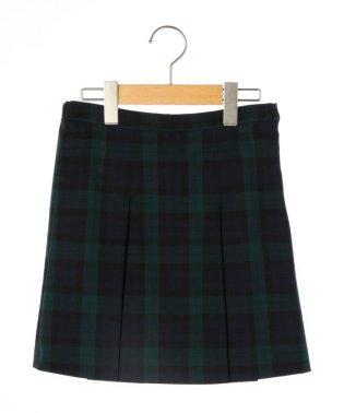 SHIPS KIDS:チェック スカート(140~150cm)