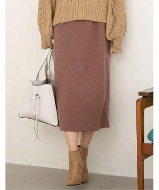 ピーチスキン台形スカート