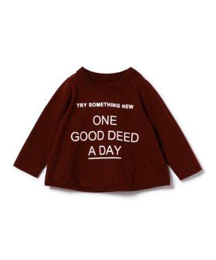 ARCH&LINE / TRY スラブ素材 ロゴプリント Tシャツ (ボーイズ ガールズ 70~90cm)