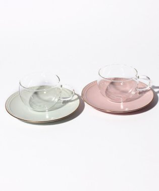 耐熱ガラスカップ&ソーサーぺアセット  2019年版