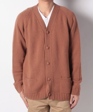 【SHIPS JET BLUE】tone:SOLID CARDIGAN