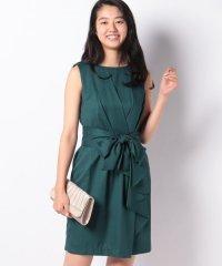 ラップ風デザインドレープドレス