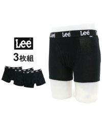 【Lee】リー ボクサーパンツ 3枚組 セット ストレッチ天竺素材