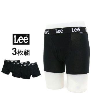 【Lee】 ボクサーパンツ 3枚組 セット ストレッチ天竺素材