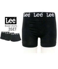 【Lee】リー  ボクサーパンツ 3枚組 セット ナイロン成型ストレッチ素材