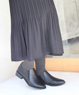 サイドゴアショートブーツ【低反発スポンジ入り】
