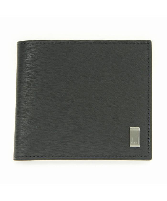 ダンヒル 二つ折り財布(小銭入れ付) SIDECAR GUNMETAL