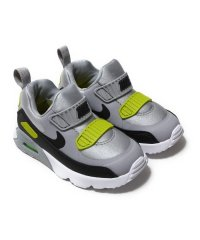 NIKE AIR MAX TINY 90 [TD]  WOLF GREY/BLACK-BRIGHT CACTUS-WHITE