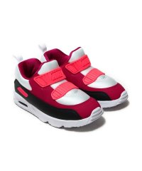 NIKE AIR MAX TINY 90 (TD)  WHITE/NOBLE RED-ANTHRACITE-SOLAR RED