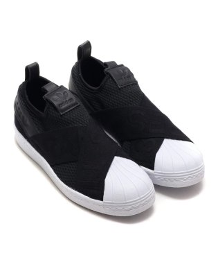 adidas Originals SUPERSTAR SLIPON W  Core Black/Core Black/Running White