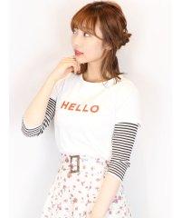【C】HELLOTシャツ