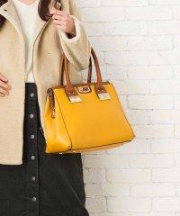 【2way】【3点セット】配色ハンドルハンドバッグ