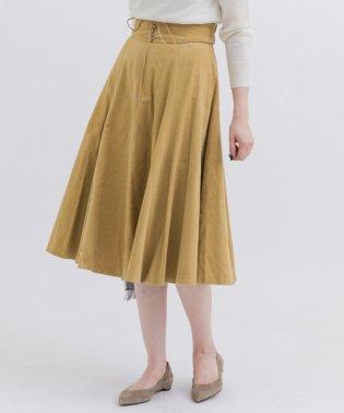 【SonnyLabel】レースアップベルト付コーデュロイスカート