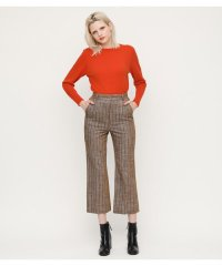 WARMY CHECK TROUSERS