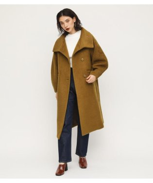 STAND COLLAR MOSSA COAT