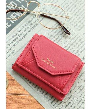シンプルカラーミニ三つ折り財布