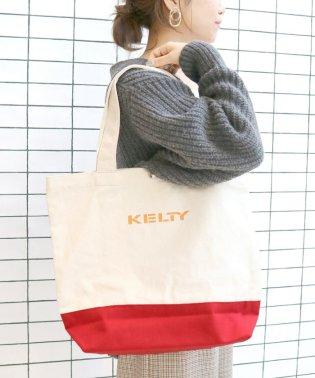 KELTY ロゴトートバッグ◆
