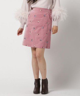 [MGOP]ベッチン刺繍台形スカート