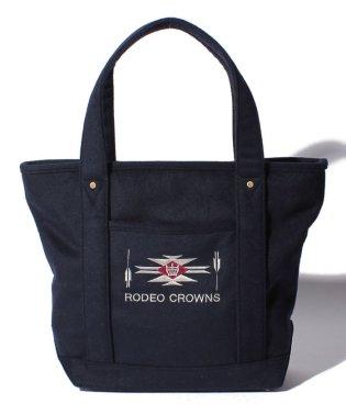 【RODEO CROWNS】WOOL TOTE TOTE L
