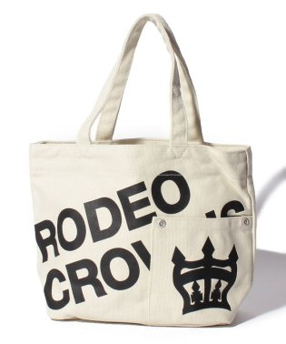【RODEO CROWNS】LOGO CANVAS LANCH TOTE