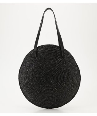 STRAW BIG CIRCLE BAG
