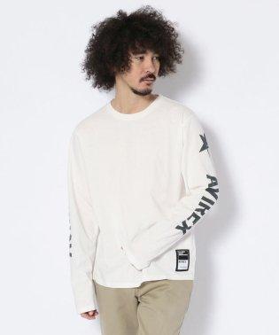 袖ロゴ 長袖T-シャツ/SLEEVE LOGO T-SHIRT