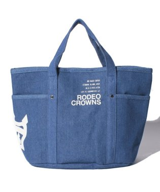 【RODEO CROWNS】CANVAS LOGO PRINT TOTE M