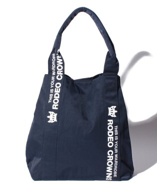 【RODEO CROWNS】NYLON PRINT TOTE 縦