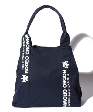 【RODEO CROWNS】NYLON PRINT TOTE 横