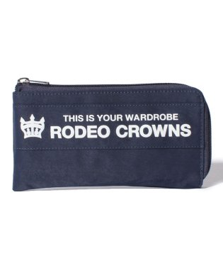 【RODEO CROWNS】NYLON PRINT LONG WALLET