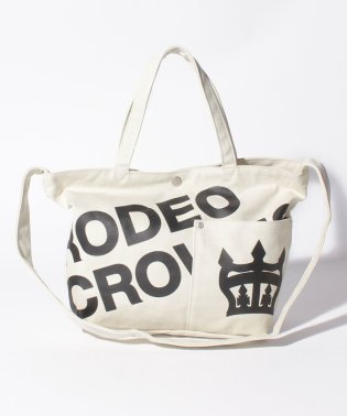 【RODEO CROWNS】LOGO CANVAS TOTE SHOULDER