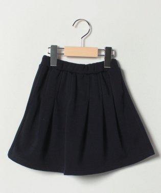 【EC別注】タックプリーツ裏起毛スカート