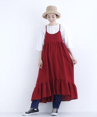 裾フリルジャンパースカート7602-0615