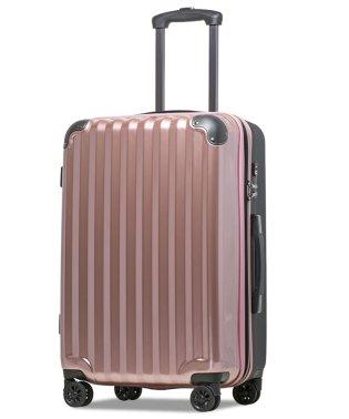 【JP-Design】スーツケース LMサイズ 静音8輪キャスター 軽量 大容量 拡張 TSAロック 受託手荷物無料 キャリーバッグ キャリーケース