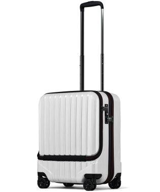 【JP-Design】スーツケース フロントオープン TSAロック搭載 小型 Sサイズ 機内持ち込みMAX