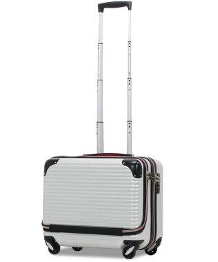 【PROEVO】 スーツケース 横型 機内持ち込み フロントポケット 小型 Sサイズ 超静音 日乃本 4輪キャスター