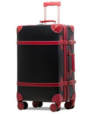【RECESS】トランクキャリー スーツケース L サイズ ストッパー付8輪キャスター TSAロック 軽量