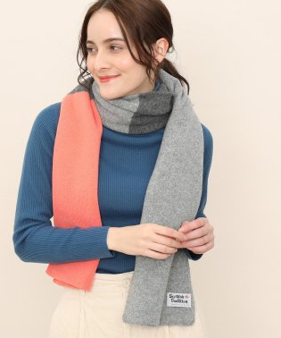 【SCOTTISH TRADITION】COMBINATION BLOCK SCARF