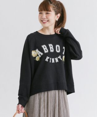 【SonnyLabel】プリントスウェット刺繍プルオーバー
