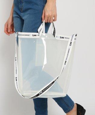 【コラボアイテム】Lee(リー)ロゴテープクリアトートバッグ