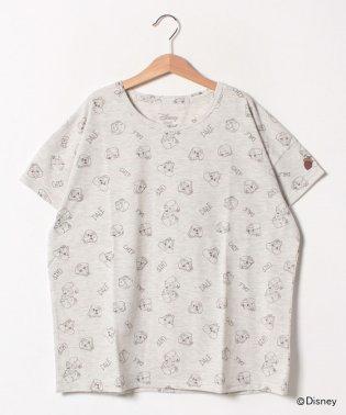【Web限定】【親子リンク】【キッズ】ディズニー チップ&デール 総柄Tシャツ