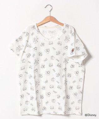 【Web限定】【親子リンク】ディズニー チップ&デール 総柄Tシャツ