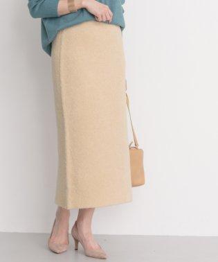 【ROSSO】ミニブークレセットアップスカート