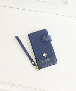 フラワーストーンブック型iPhone8/7/6/6sケース