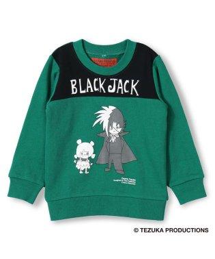 【skeegee】ブラックジャックDesigned by Taku Yoshimizu裏毛トレーナー