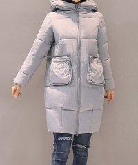 ダウンコート レディース ロングコート フード付きコート 軽い 暖かい コート 即納